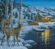 At Waters Edge (Crop) - Cross Stitch Chart