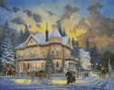 Christmas at Great Grandpa's (Large) - Cross Stitch Chart