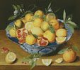 Still Life Lemons, Oranges and Pomegranate - Cross Stitch Chart