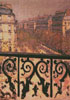 A Balcony in Paris - Cross Stitch Chart