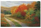 A Bend in the Road - Cross Stitch Chart