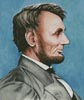 Abraham Lincoln - Cross Stitch Chart