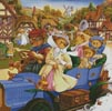 A Drive in the Country - Cross Stitch Chart