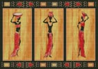 African Style - Cross Stitch Chart