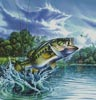 Airborne Bass - Cross Stitch Chart