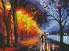 Alley by the Lake (Large) - Cross Stitch Chart