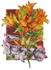 Amarylis and Daylilies - Cross Stitch Chart