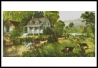 American Homestead (Summer) - Cross Stitch Chart