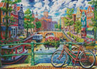 Amsterdam Canal (Large) - Cross Stitch Chart