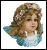 Angel Girl - Cross Stitch Chart