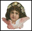Angel Girl 2 - Cross Stitch Chart