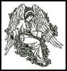 Angelic Greeting - Cross Stitch Chart