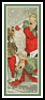 Angels Feeding a Reindeer Bookmark - Cross Stitch Chart