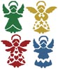 Angel Silhouettes - Cross Stitch Chart