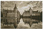 Anholt Castle, Germany (Sepia) - Cross Stitch Chart