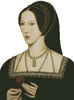 Anne Boleyn (No Background) - Cross Stitch Chart