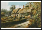 Anne Hathaway's Cottage - Cross Stitch Chart