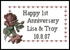 Anniversary Sampler - Cross Stitch Chart