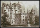 Antique Castle 2 - Cross Stitch Chart