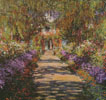 A Pathway in Monets Garden Giverny - Cross Stitch Chart