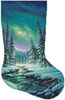 A Quiet Stroll Stocking (Right) - Cross Stitch Chart
