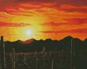 Arizona Sunset - Cross Stitch Chart