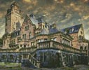 Artistic Castle - Cross Stitch Chart