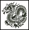 Asian Dragon - Cross Stitch Chart