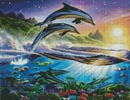 Atlantic Dolphins - Cross Stitch Chart