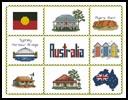Australian Sampler - Cross Stitch Chart