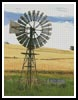 Australian Windmill - Cross Stitch Chart