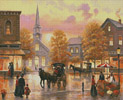 Autumn Breeze in Pleasantville - Cross Stitch Chart