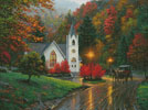 Autumn Chapel - Cross Stitch Chart