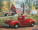 Autumn in Big Bear Forest - Cross Stitch Chart