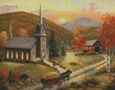 Autumn in Vermont - Cross Stitch Chart
