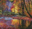 Autumn Prelude (Cushion) - Cross Stitch Chart