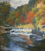 Autumn Serenity (Cushion) - Cross Stitch Chart