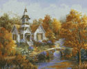 Autumn Worship - Cross Stitch Chart