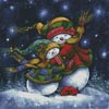 A Winter Hug - Cross Stitch Chart