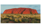 Ayers Rock Photo (Uluru) - Cross Stitch Chart