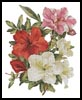 Azaleas - Cross Stitch Chart