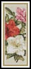 Azaleas Bookmark - Cross Stitch Chart