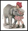 Baby Elephant - Cross Stitch Chart