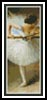 Ballerina Bookmark - Cross Stitch Chart