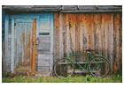 Barn and Bike - Cross Stitch Chart