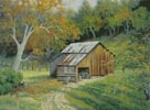 Barn on Crystal Springs Road - Cross Stitch Chart