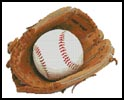 Baseball Glove and Ball - Cross Stitch Chart
