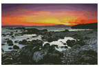 Beach at Sunrise - Cross Stitch Chart