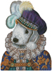 Bedlington Prince - Cross Stitch Chart