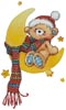 Bedtime Bear - Cross Stitch Chart